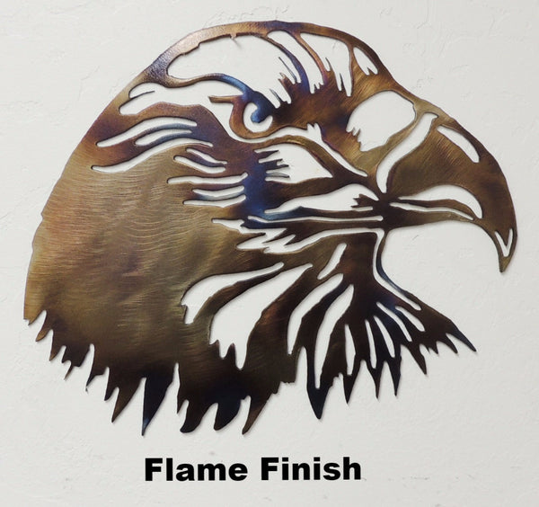 Eagle head metal wall hanging Eagle Wildlife wall hanging