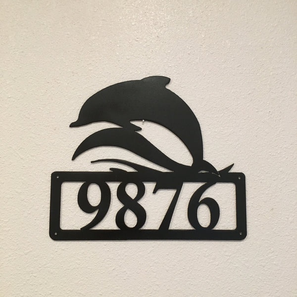 HN35 Dolphin House Number