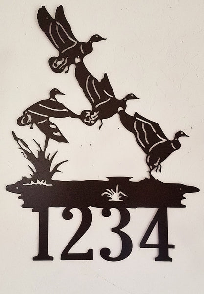 AN20F Ducks in Flight Wall Art