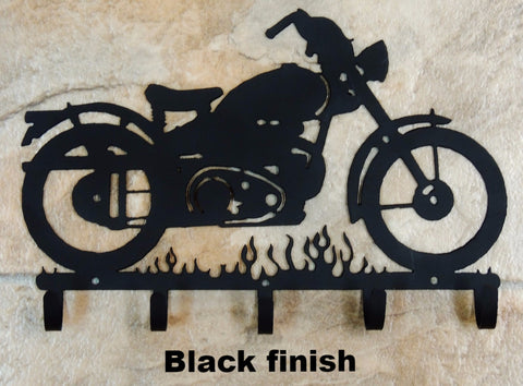 Motorcycle metal Key Rack or Key Holder horseflymetalart.com