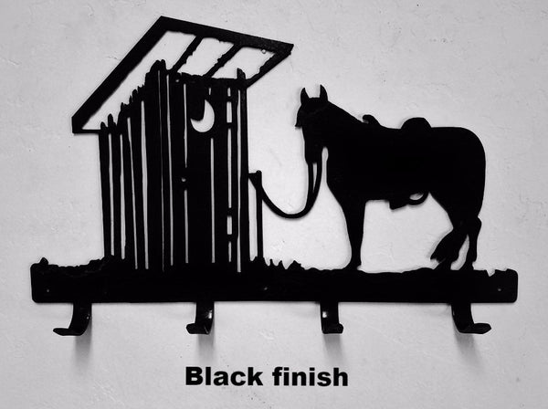 Cool Horse Amp Outhouse Coat Or Towel Rack Horse Metal Art