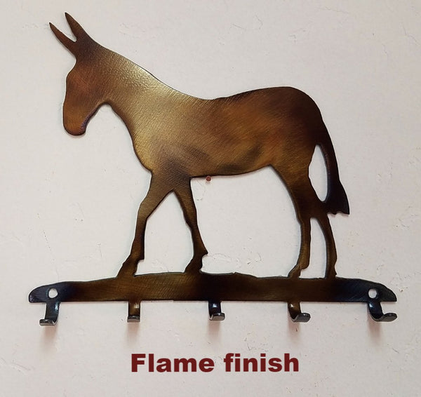 Mule Metal Key Hook. Mule Metal Art Key Rack or Key Holder