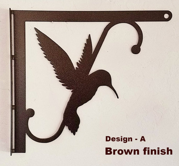 Metal Hummingbird Bracket. Hummingbird Feeder Hangers. Hummingbird Feeder Hooks