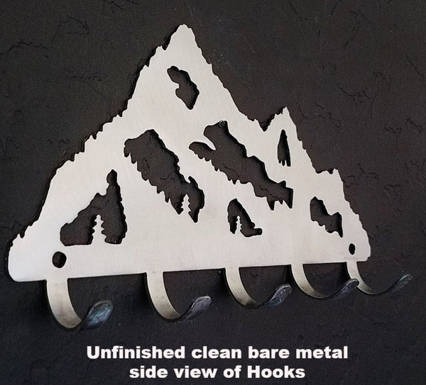 Mountain Metal Key Holder. Mountain Metal Key Rack.
