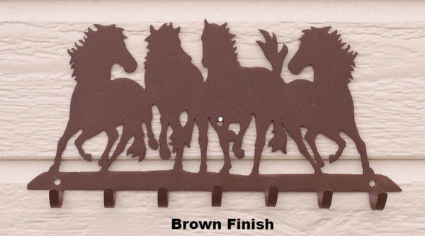 Horse Metal Key Rack or Holder horseflymetalart.com