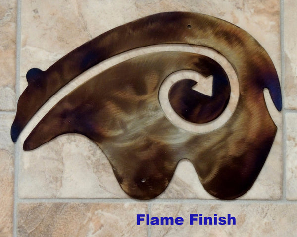 Southwest Native American Bear Wall Art Design horseflymetal.com