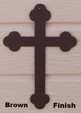 Cross metal wall art silhouette  horseflymetalart.com