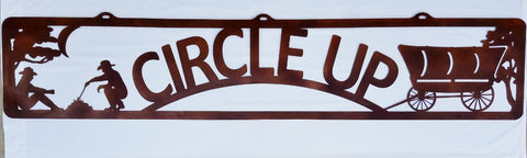 Farm or Ranch Western metal entrance sign horseflymetalart.com