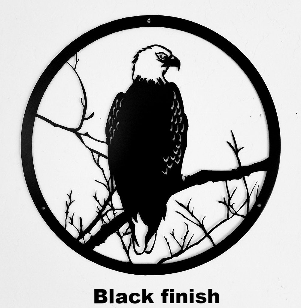 Eagle Metal Wall Art Eagle Metal Wall Hanging Eagle Silhouette Horsefly Metal Works Llc Choose from over a million free vectors, clipart graphics, vector art images, design templates, and illustrations created by artists worldwide! an22e eagle wildlife scene