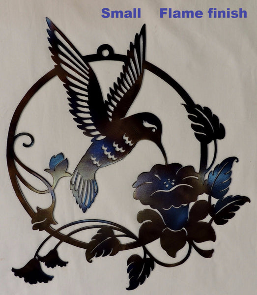 Hummingbird metal art. Hummingbird Metal Wall Art