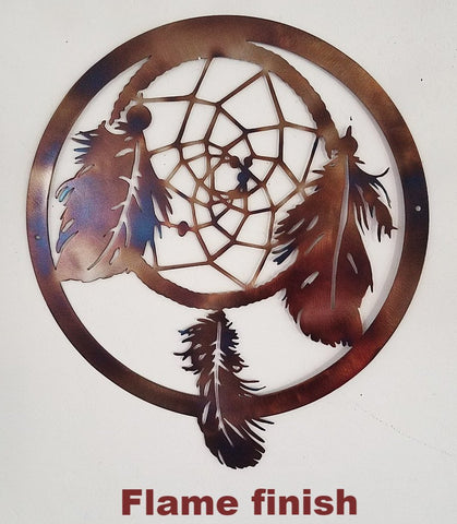 Dream Catcher metal wall art. Dream Catcher metal wall hanging