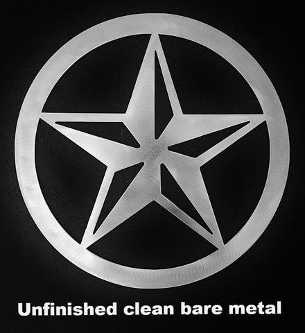Texas Star metal Wall Art. Texas Star metal Barn Art. Texas Star metal silhouette