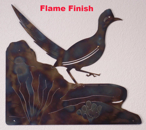 Roadrunner metal Wall Art horseflymetalart.com
