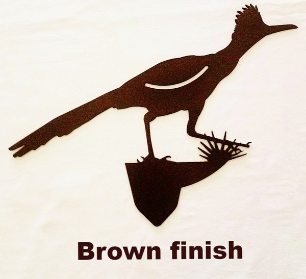 Cool Metal Roadrunner Garden art. Roadrunner Bird metal Yard Art Silhouette