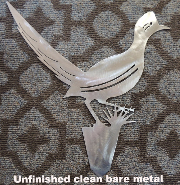 Roadrunner metal yard art. Roadrunner Bird Garden
