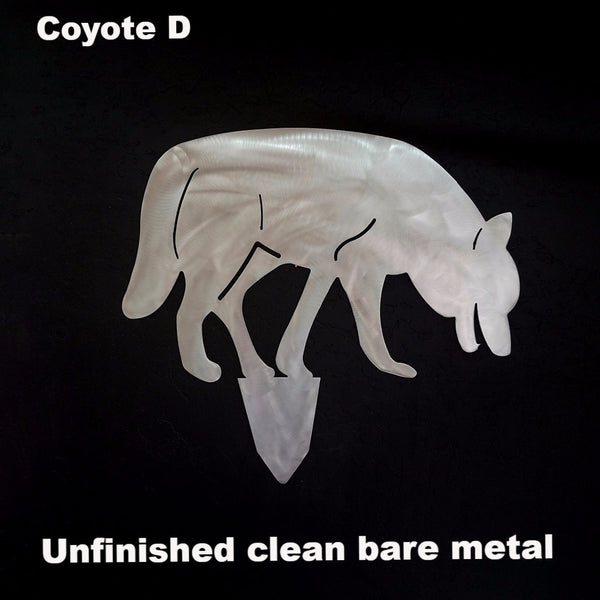 Coyote Family Yard Art or Lawn Art horseflymetalart.com