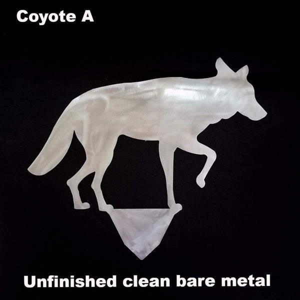 Coyote lawn or yard art horseflymetalworks.com