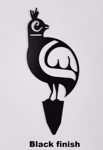 Metal Quail Garden Art. Quail Lawn and Garden Art. Southwest Quail metal art design