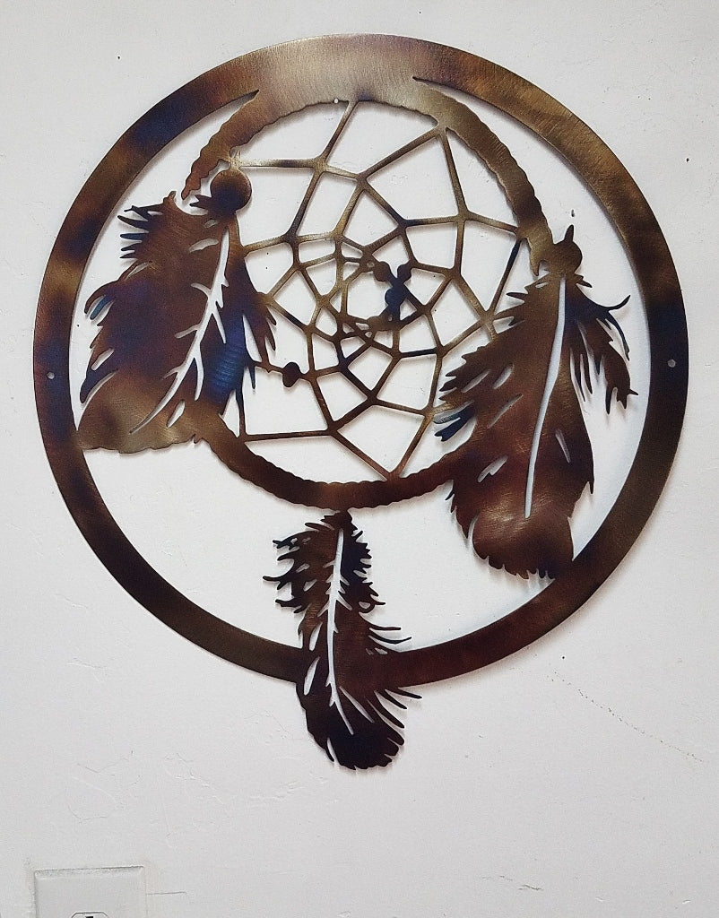 Dream Catcher metal wall art decor