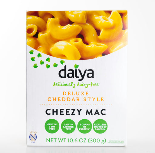 Daiya - Deluxe Cheddar Style Cheezy Mac & Cheese - Vegan - 10.6 oz box