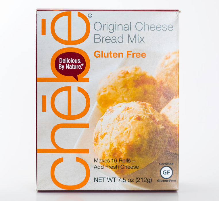 Delicious by Nature - Chebe - Original Cheese Bread Mix - Gluten-Free/Paleo - 7.5 oz Box - Baking Supplies - Hardin's Natural Foods