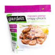 Gardein - Mandarin Orange Crispy Chick'n - Vegan Meat/Chicken Substitute - Case of 8 10.5oz Bags - Frozen - Hardin's Natural Foods