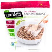 Gardein - Groundless Beef - Vegan Meat Substitute - Case of 8 13.7oz Bags