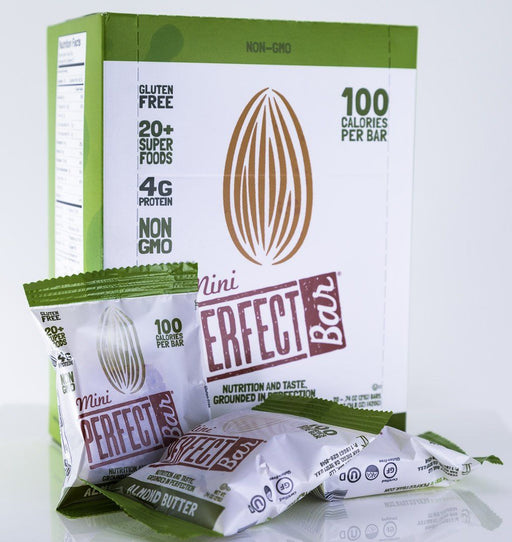 Perfect Foods - Mini Almond Butter Perfect Bars - Box of 20 - Snack Bars - Hardin's Natural Foods