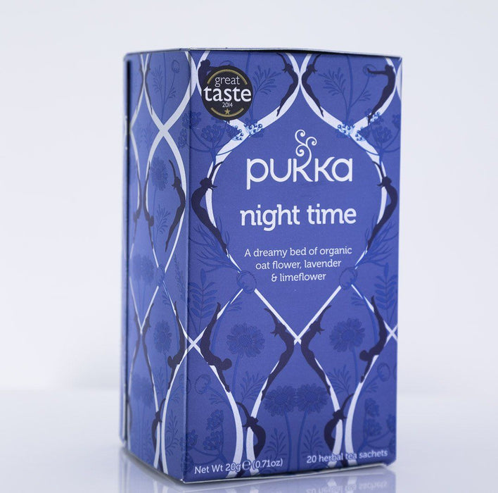 Pukka Herbs - Night Time Tea Blend - 1 Box of 20 Bags - Tea - Hardin's Natural Foods