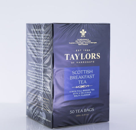 Taylors of Harrogate - Scottish Breakfast Tea - 50 Tea Bags