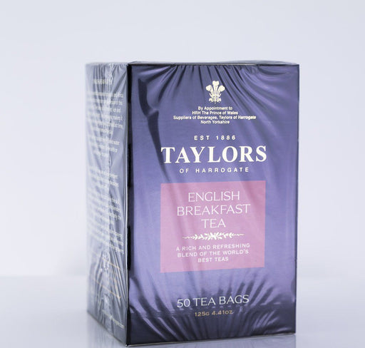 Taylors of Harrogate - English Breakfast Tea - 50 Tea Bags - Tea - Hardin's Natural Foods
