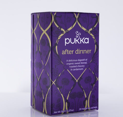 Pukka Herbs - After Dinner Tea Blend - 1 Box of 20 Bags
