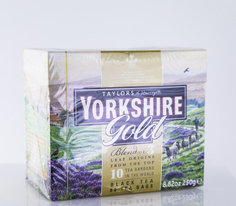 Taylors of Harrogate - Yorkshire Gold Tea - 80 Tea Bags - Tea - Hardin's Natural Foods