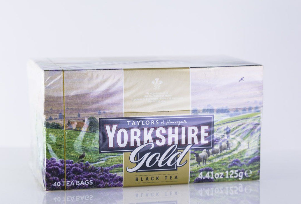 Taylors of Harrogate - Yorkshire Gold Tea - 40 Tea Bags - Tea - Hardin's Natural Foods