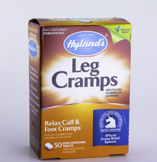 Hyland's Homeopathic Leg Cramp Formula - 50 Tablets - Supplement - Hardin's Natural Foods