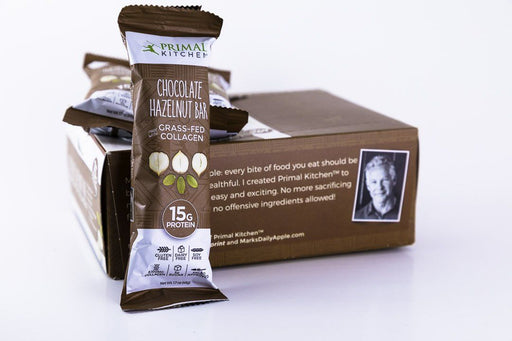 Primal Kitchen - Chocolate Hazelnut Bars - Box of 12 - Snack Bars - Hardin's Natural Foods