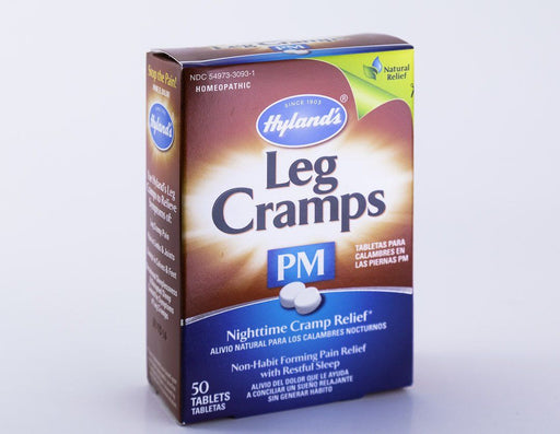Hyland's Homeopathic PM Leg Cramp Formula - 50 Tablets - Supplement - Hardin's Natural Foods