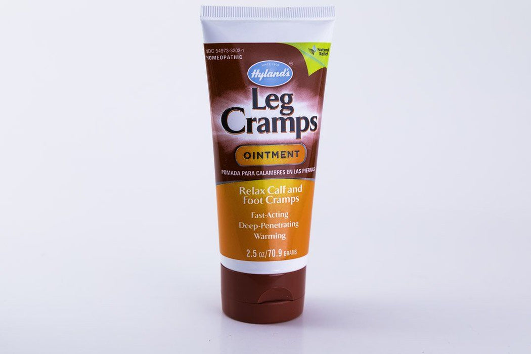 Hyland's Homeopathic Leg Cramp Formula Ointment - 2.5 oz - Supplement - Hardin's Natural Foods