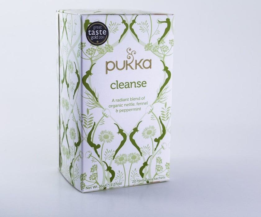 Pukka Herbs - Cleanse Tea Blend - 1 Box of 20 Bags - Tea - Hardin's Natural Foods