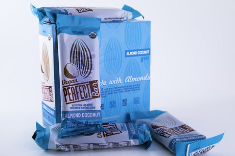 Perfect Foods - Almond Coconut Vegan Perfect Bars - Box of 8