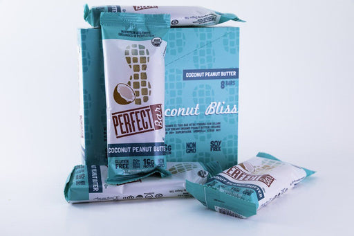 Perfect Foods - Coconut Peanut Butter Perfect Bars - Box of 8 - Snack Bars - Hardin's Natural Foods