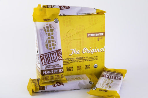Perfect Foods - Peanut Butter Perfect Bars - Box of 8 - Snack Bars - Hardin's Natural Foods
