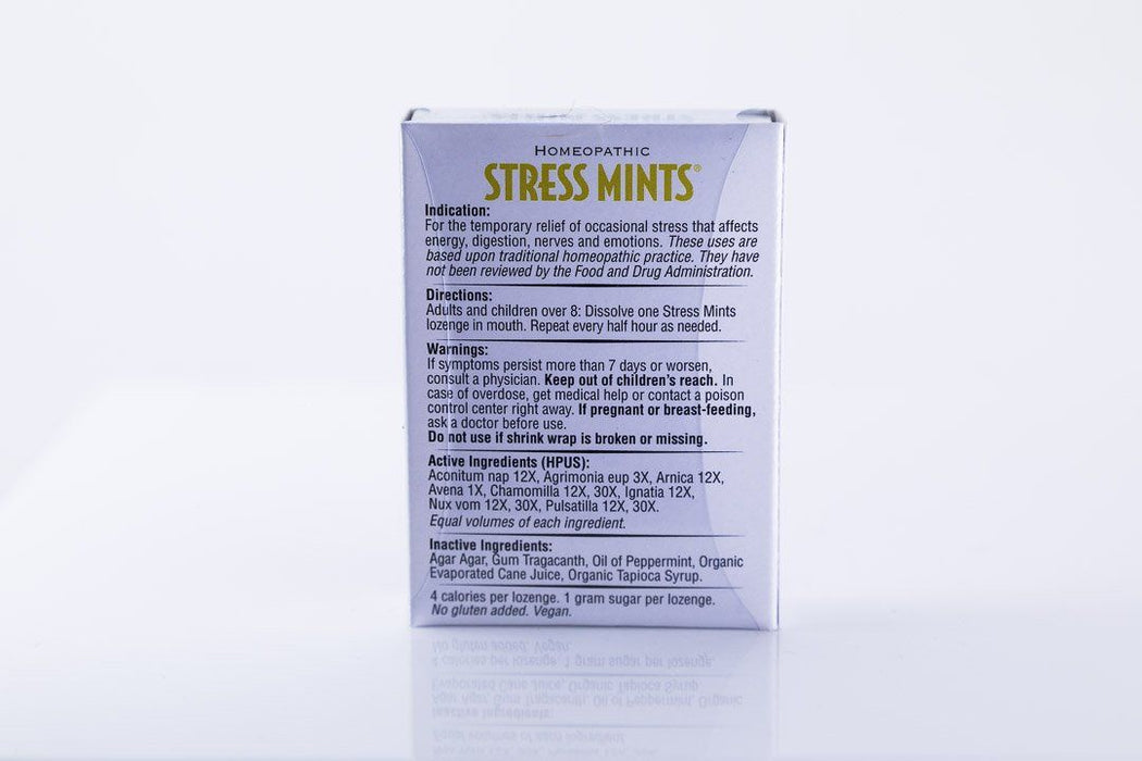 Historical Remedies - Stress Mints - 30 Homeopathic Lozenges - Supplement - Hardin's Natural Foods