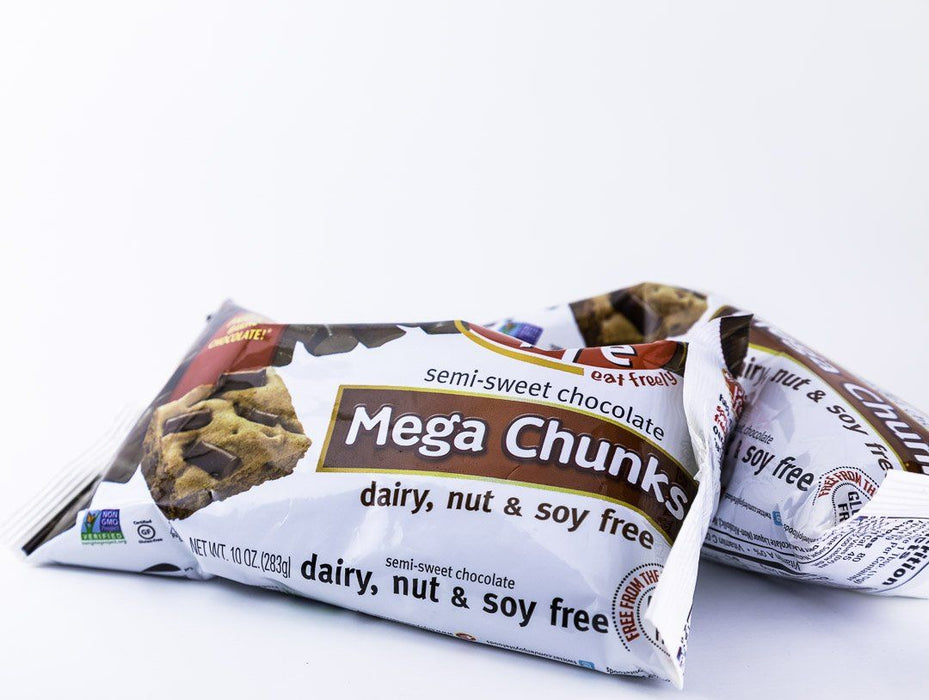 Enjoy Life - Mega Chunks Semi-Sweet Allergen Free Baking Chocolate - 2 Pack - 10 oz Bags - Chocolate - Hardin's Natural Foods