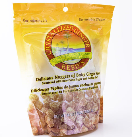 Reed's Crystallized Ginger - 16 oz Bag