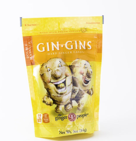 Ginger People - Double Strength Hard Candy Gin Gins - 3 oz Bag