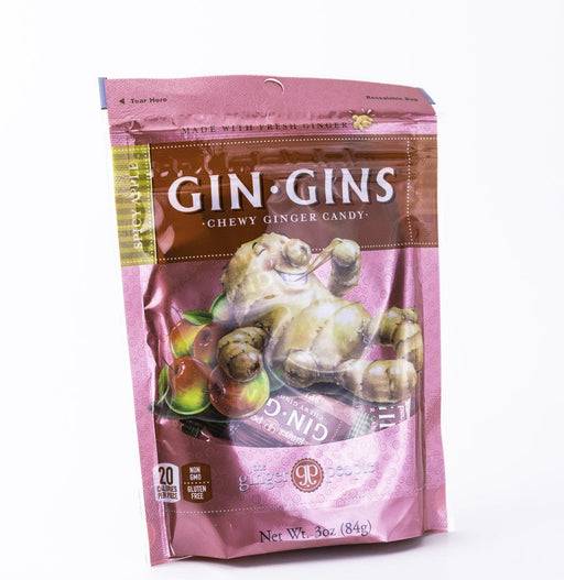 Ginger People - Spicy Apple Gin Gin Candy - 3 oz Bag - Candy - Hardin's Natural Foods