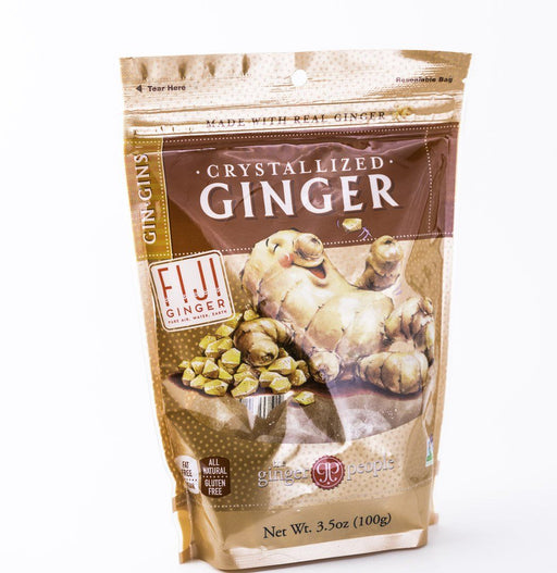 Ginger People - Crystallized Gin Gin Candy - 3.5 oz Bag - Candy - Hardin's Natural Foods