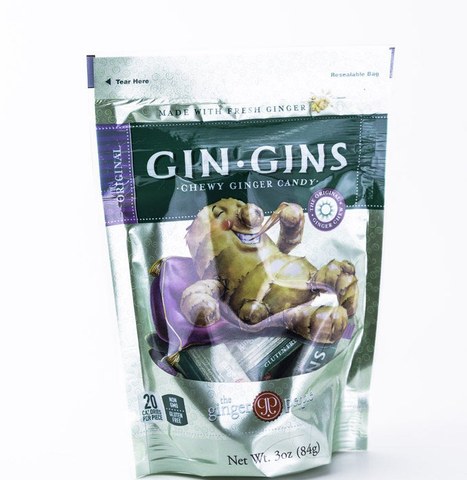 Ginger People - Original Gin Gin Candy - 3 oz Bag - Candy - Hardin's Natural Foods