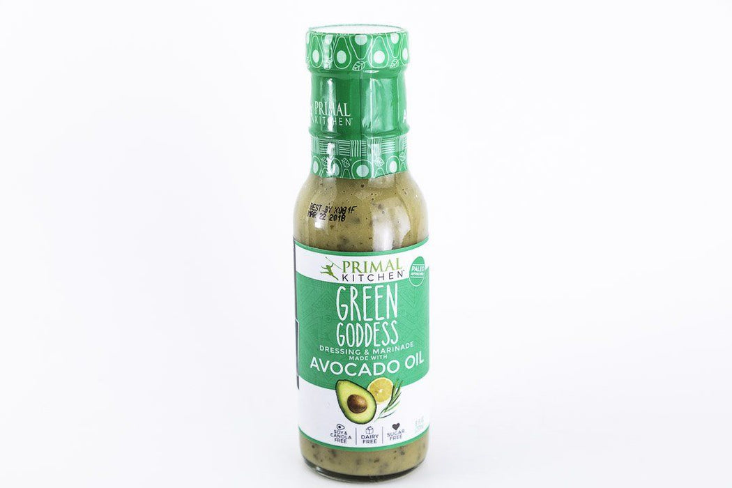 Primal Kitchen - Green Goddess Avocado Oil Salad Dressing - 8 oz Bottle - Condiments - Hardin's Natural Foods